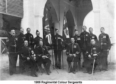 1906 Regimental Colour Sergeants