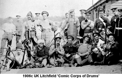 1906c UK Litchfield - Comic Corps of Drums