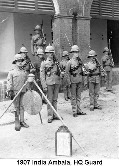 1907 India Ambala HQ Guard