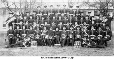 1913 Ireland Dublin 2DWR G Coy