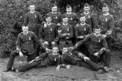 1896 S Africa Matabeli 2DWR Cpl & 11 Privates in No1 Dress With South Africa Medal