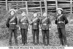 1900c South Africa Boer War Dukes
