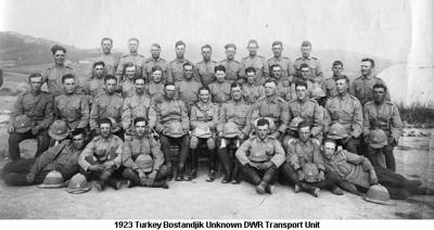 1923 Turkey Bostandjik Unknown DWR