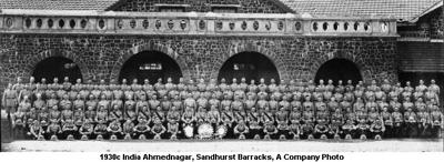 1930c India Ahmednagar Sandhurst B