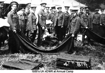 1930c UK 4DWR at Annual Camp