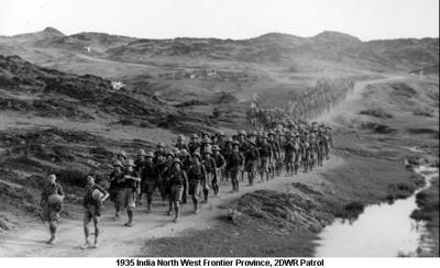 1935 India NWFP 2DWR Patrol
