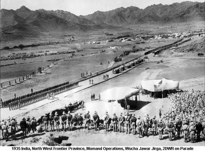 1935 India NWFP Momand Operations Wucha Jawar Jirga