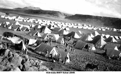 1938 India NWFP Kohat 2DWR