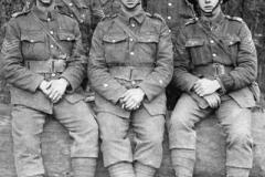 1916c France 1st 6th DWR Sgt J Irving (top Left)