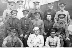 1920-30c UK 1DWR Somme Group in Barracks