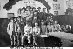 1920c UK Halifax Wellesley Park Barracks