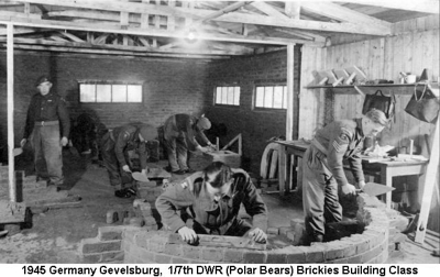 1945 Germany Gevelsburg Builders Course
