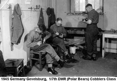 1945 Germany Gevelsburg Cobblers Course