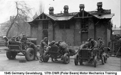 1945 Germany Gevelsburg Motor Mechanics Course 02