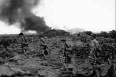 1942 Pantelleria Island 1DWR men bringing up mortar shells