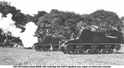 1952 UK Huddersfield 6DWR (382 Field Rgt RA)