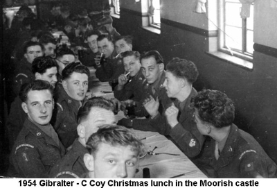 1954 Gibralter C Coy Christmas lunch