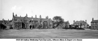 1959 UK Halifax Regimental HQ Wellesley Park Bks