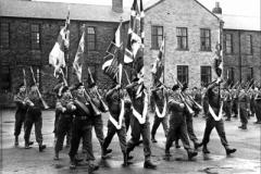 1952-09-14 Halifax Handing in Colours prior to Korea