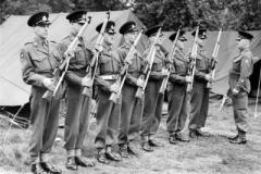 1953 RSM Kenchington Inspecting Guard for Coronation