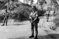 1969 Hong Kong Dukes Manning a road block