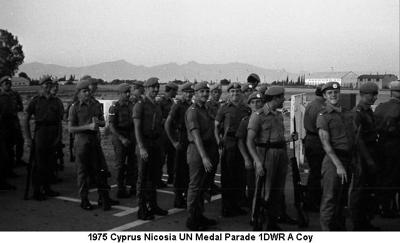 1975 Cyprus Nicosia UN Medal Parade 1DWR 01