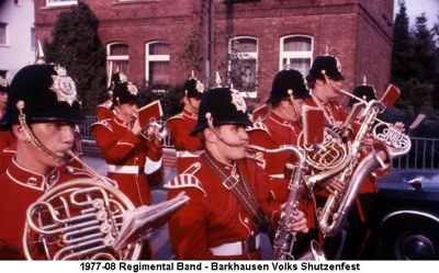 1977-08 Regimental Band - Barkhausen Volks Shutzenfest