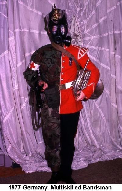 1977 Germany Minden Multiskilled Bandsman