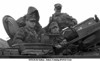 1978-05 02 Soltau - Training  AFV432 Crew, ST BW-14