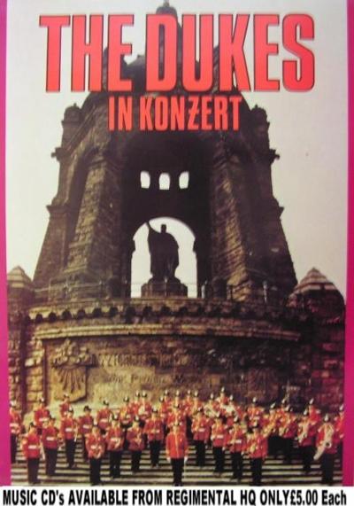 1978 Germany Porta Denkmal Dukes in Konzert - LP Front
