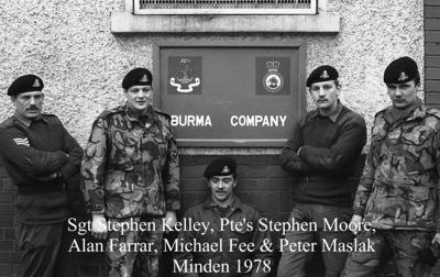 1978 Minden Sgt S Kelly & Co