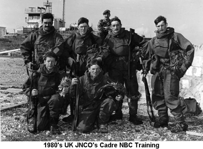 1980s UK JNCOs Cadre NBC Training