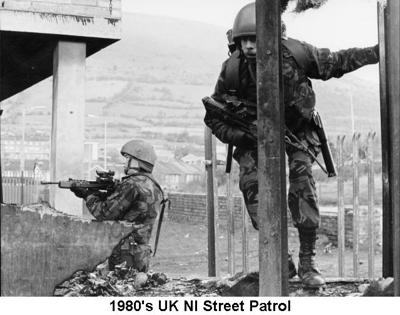 1980s UK NI Recce Patrol