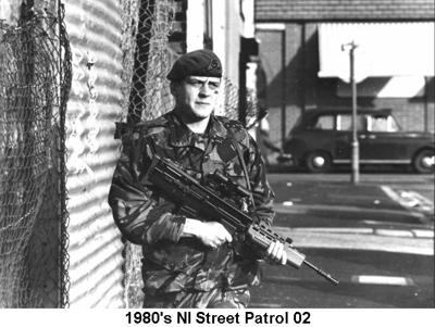 1980s UK NI Street Patrol 02