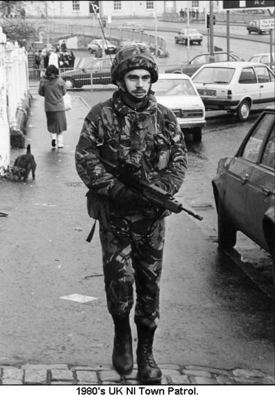 1980s UK NI Town Patrol