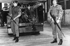 1970s UK NI Cpl Porter & Section