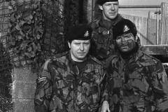 1973-74 Ireland Ballykelly Burma Coy Shackleton Bks 12 Front Left Cpl Edwards
