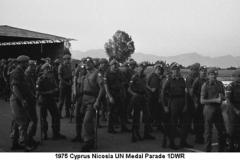 1975 Cyprus Nicosia UN Medal Parade 1DWR 02