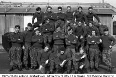 1976-01-04 Ireland Portadown Alma Coy 3 Pltn 06 Lt A Drake Sgt Wayne Harston