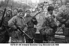 1976-01-04 Ireland Somme Coy Bessbrook Mill 15a Names