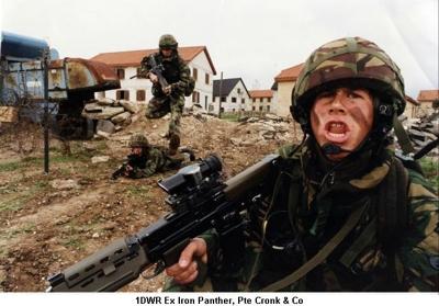 1990c Ex Iron Panther Pte Cronk