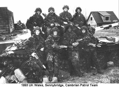 1993 UK Wales Sennybridge Cambrian Patrol Team