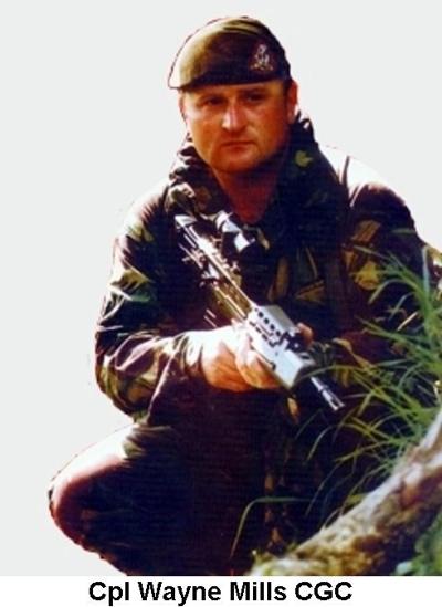 1994 Bosnia Gorazde Cpl Wayne Mills CGC