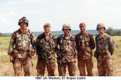 1997 UK Weeton 01 Sniper Cadre