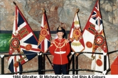 1984 Gibraltar St Micheals Cave Cpl Shin