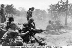 1986 Kenya EX Strident Call - Mpala Farm GPMGs Field Firing