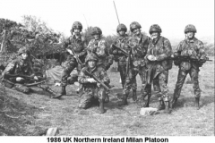 1986 UK Northern Ireland Milan Platoon