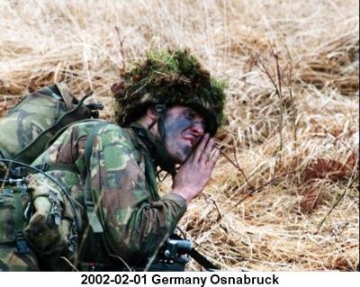 2002-02-01 Germany Osnabruck PNCOs Cadre Halton Ranges