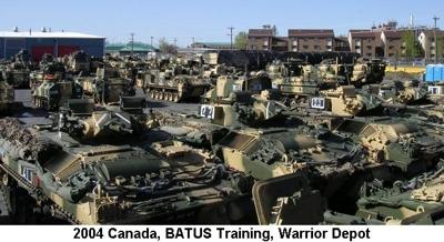 2004 Canada BATUS Vehicles