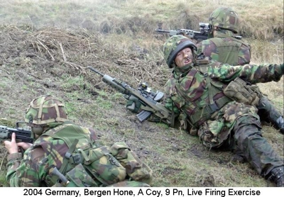 2004 Germany Bergen Hone A Coy 9Pl